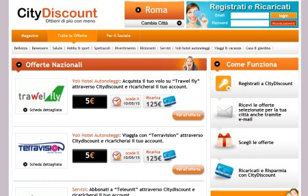 screenshot citydiscount