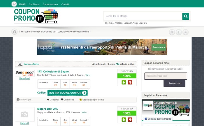 couponpromo-it-sito-ufficiale-homepage