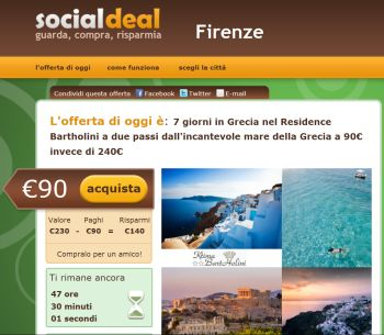 screenshot social deal