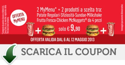 coupon mcdonalds